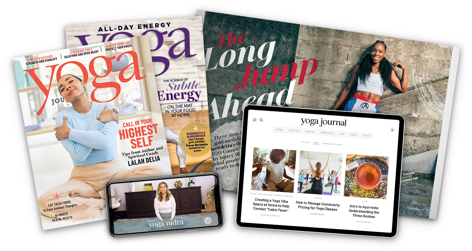 Yoga Journal Print Magazine & Digital Subscription